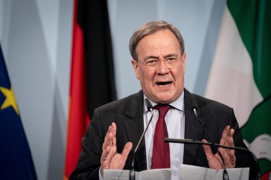 Der 60-jährige CDU-Kanzlerkandidat wird sich im Landtag vor allem zur gemeinsamen Bekämpfung der dritten Welle äußern.