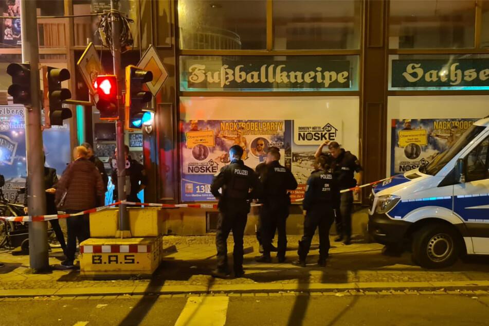 Leipzig: Polizei-Großeinsatz nach Messerstecherei