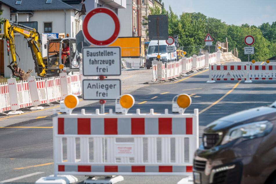 Baustellen Chemnitz: Chemnitz: Diese Baustellen sorgen auch 2021 noch für Behinderungen