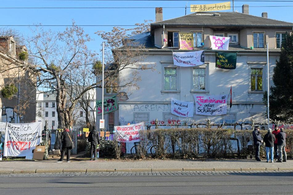 Das besetzte Haus in der Königsbrücker Straße wurde am 21. Januar vom SEK geräumt.