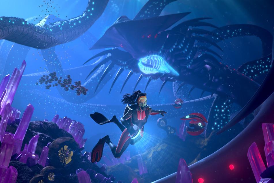 """Endlich wieder Abenteuer unter Wasser: Mit """"Subnautica: Below Zero"""" veröffentlicht Entwickler Unknown Worlds Entertainment den nächsten Survival-Kracher."""