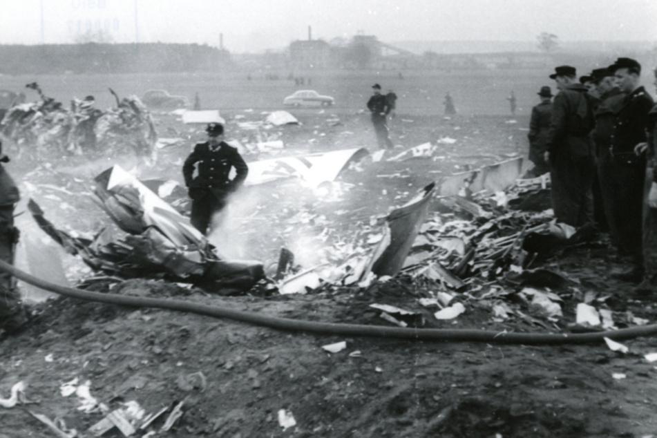4. März 1959: Der in Dresden hergestellte Düsenjet 152 ist zerschellt.