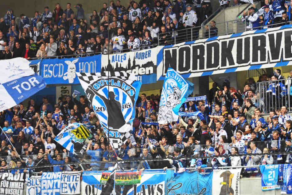 Die Dresdner Eislöwen verkaufen aktuell keine Dauerkarten für die kommende Saison.