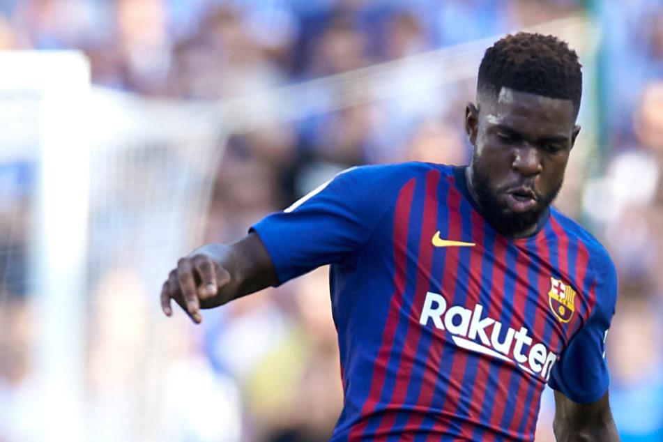 Coronafall beim FC Barcelona: Umtiti positiv auf Virus getestet