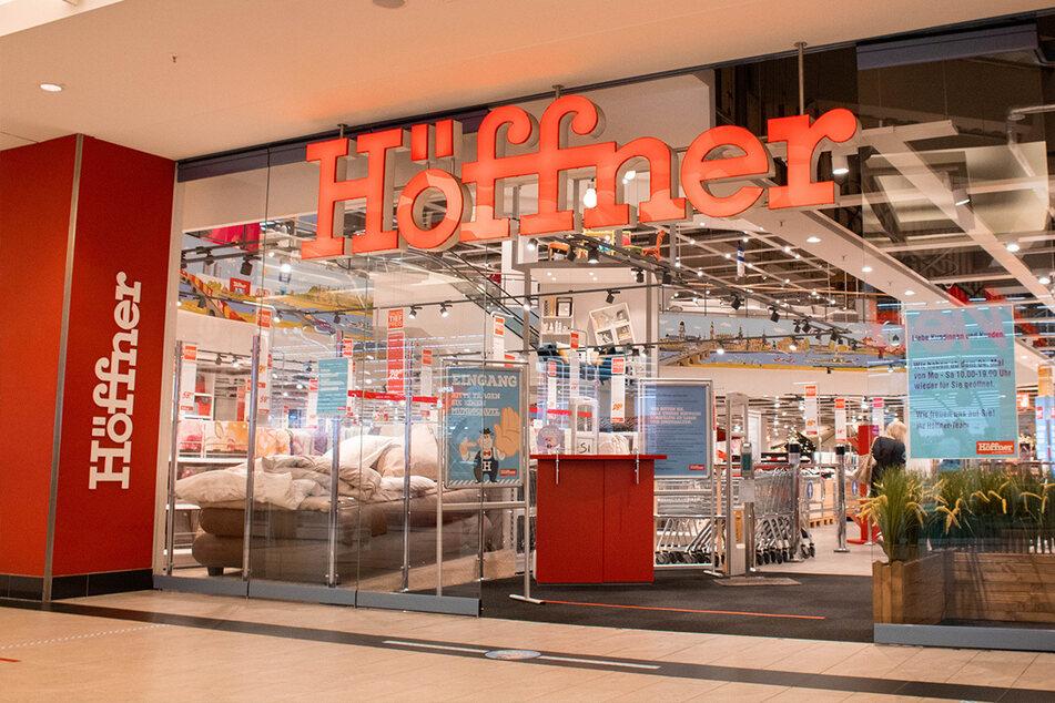 Höffner startet krasses Angebot bis Sonntag (7.3.), als gebe es keinen Lockdown