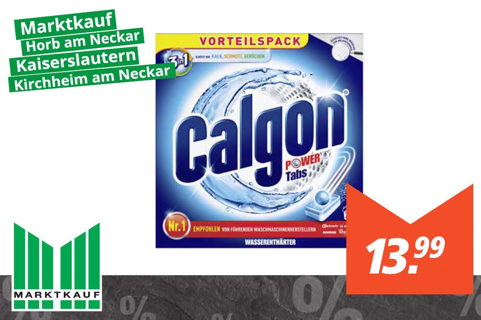 Calgon Power Tabs 3in1 für 13,99 Euro