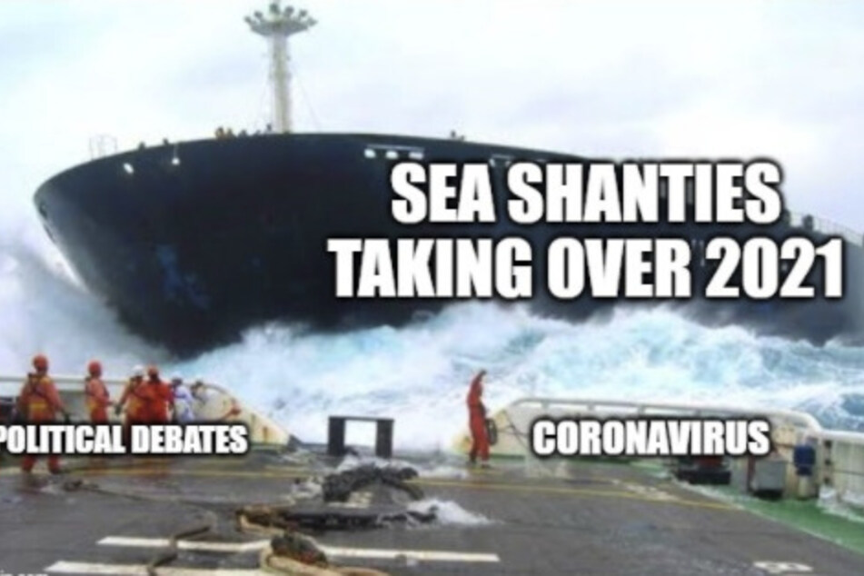 Twitter users are hoping that sea shanties will be bigger news than the coronavirus and political debates.