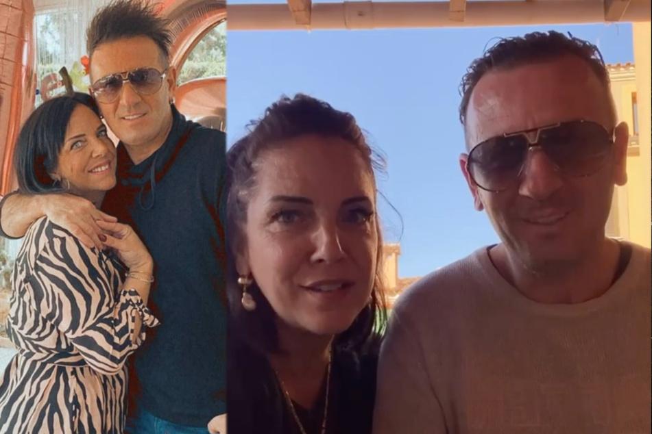Links: Ennesto Monté (46), wie wir ihn kennen. Rechts: Ennesto mit neuer Frisur.
