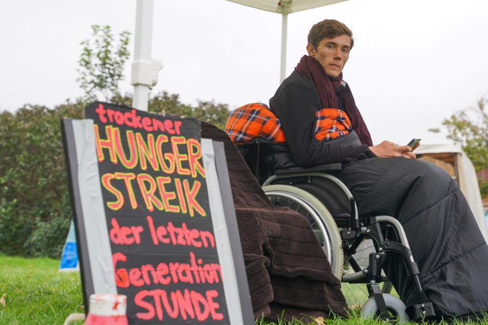 Hungern fürs Klima: Aktivist Henning mit niedrigem Puls im Krankenhaus