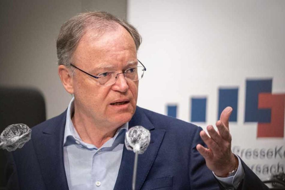 Niedersachsens Ministerpräsident Stephan Weil (SPD) zeigt sich über den Verlauf der Pandemie erleichtert.