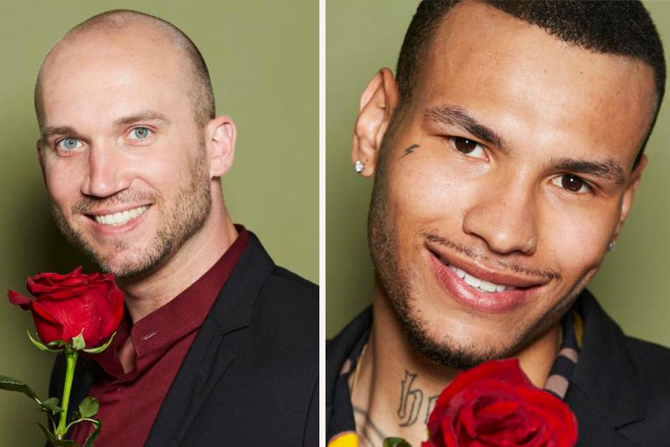 Key Account Manager Henrik (33, l.) aus Hannover und Model Jonathan (25) aus Berlin. (Fotomontage)