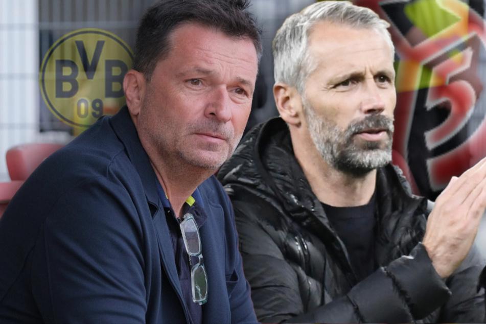 Was lief da mit Mainz und Rose? Heidel spricht über Flirt mit BVB-Coach