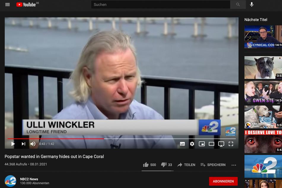 Ulli Winckler erklärt NBC2, was es mit Wendlers Flucht in die USA auf sich haben könnte.
