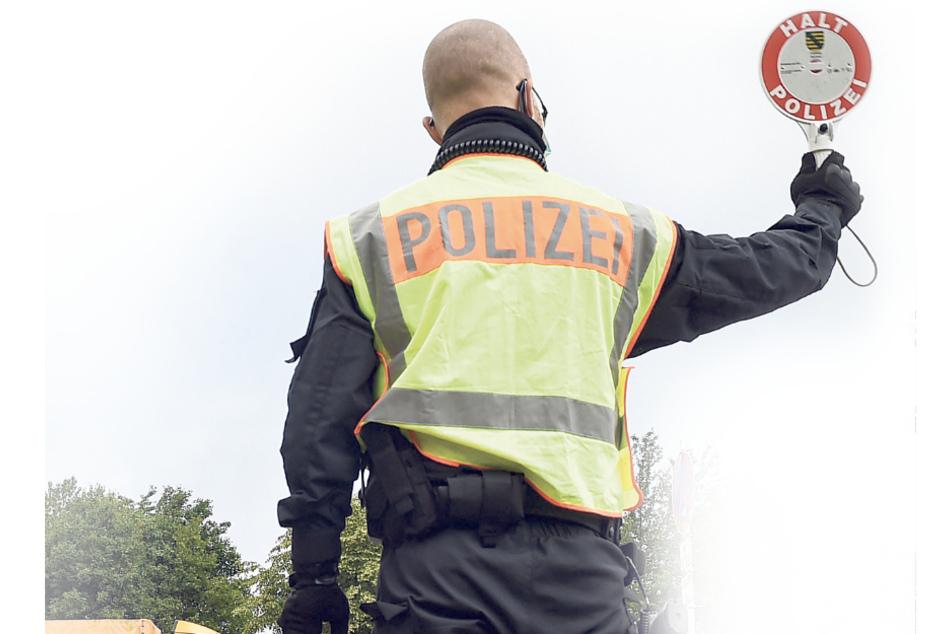 Die Bundespolizei kontrolliert regelmäßig im Grenzgebiet.