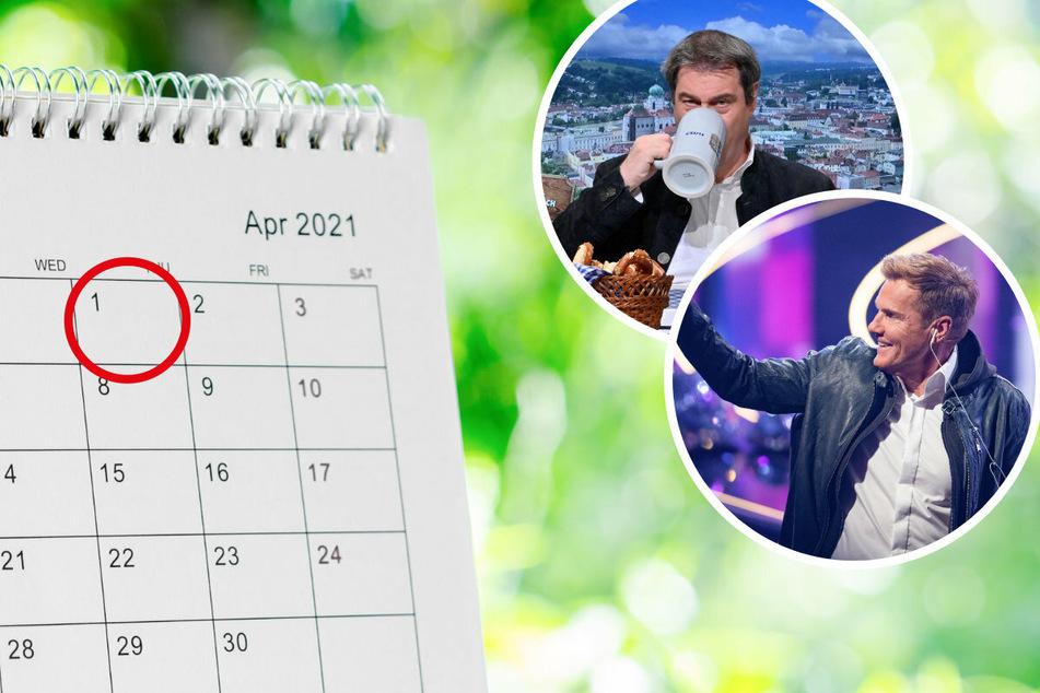 April, April! Die bislang besten Scherze: Von Bohlens DSDS-Nachfolger bis Markus Söder