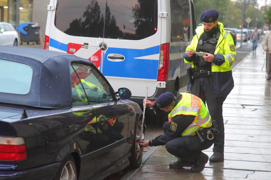 Dresden: Achtung, Verkehrskontrolle: So lief der erste Lauer-Tag