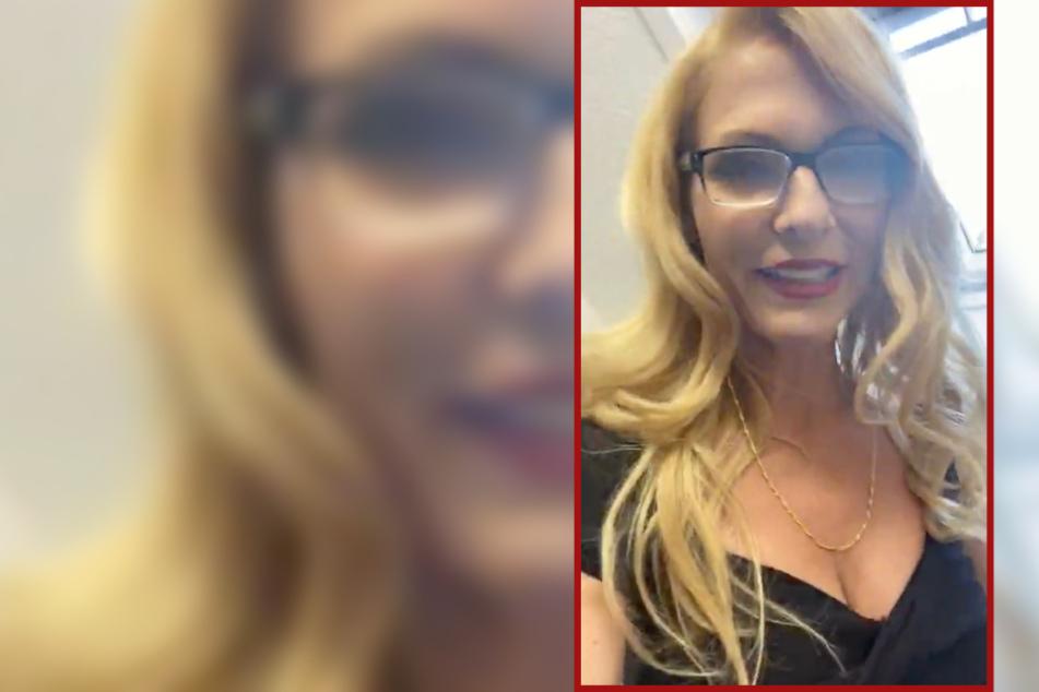 Sonya Kraus wird jetzt strenge Direktorin im Internat