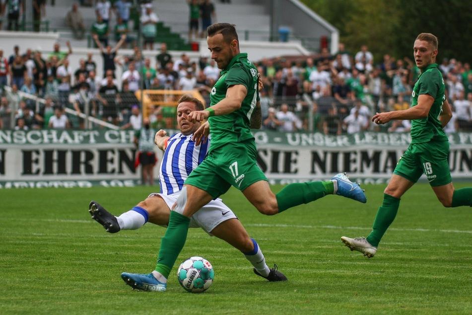 Chemie Leipzig blieb auch gegen die stark besetzte U23 von Hertha BSC ohne Niederlage.