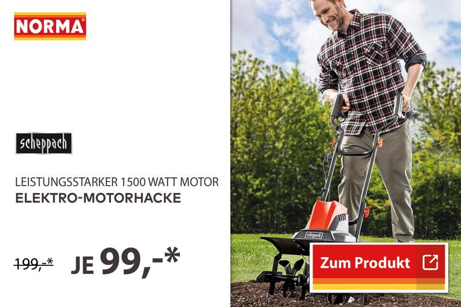 Elektro-Motorhacke für 99 Euro