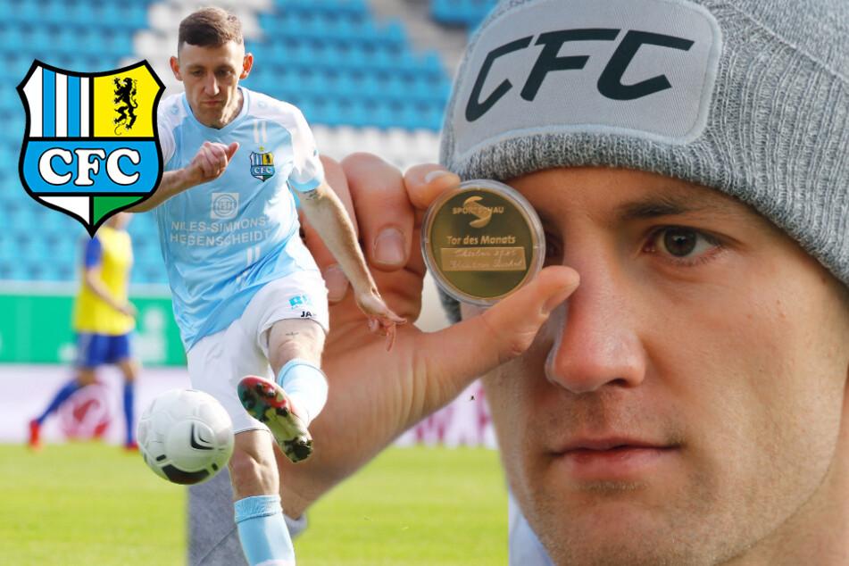Chemnitzer FC: Bickel legt sich das schönste Geschenk selbst untern Baum