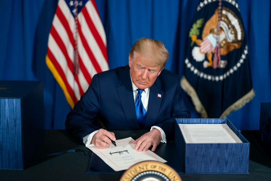 President Donald Trump initially vetoed both the stimulus bill and the defense spending bill.