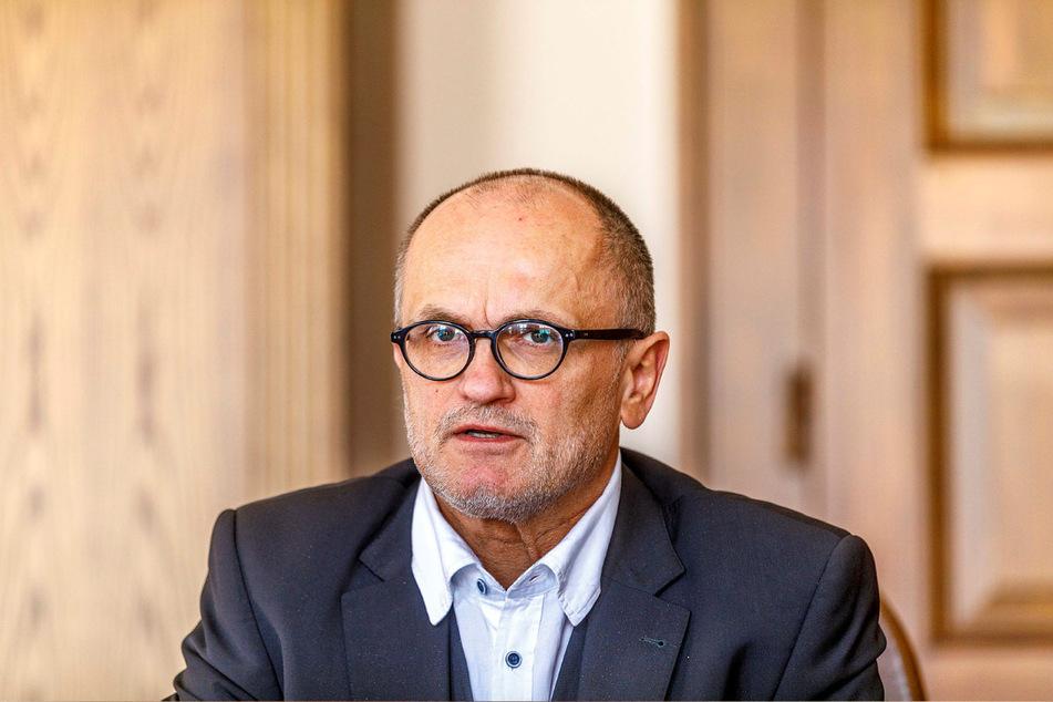 Stadtchef Roland Dantz (61, parteilos).