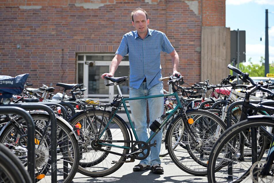 Chemnitzer Bahnhof im Fahrrad-Check ganz mies: Studie legt alte Probleme offen