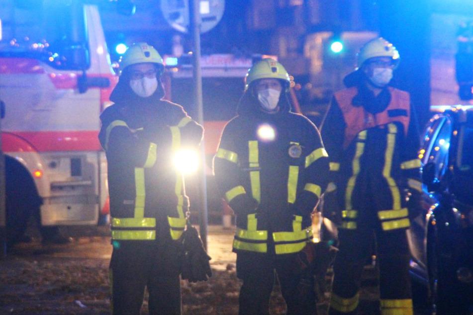 Rund 30 Feuerwehr-Kräfte waren im Einsatz.