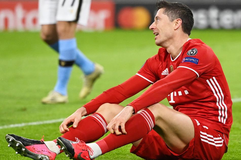 Robert Lewandowski (32) wird dem FC Bayern München auch im Rückspiel gegen Paris Saint-Germain am Dienstagabend leider fehlen.