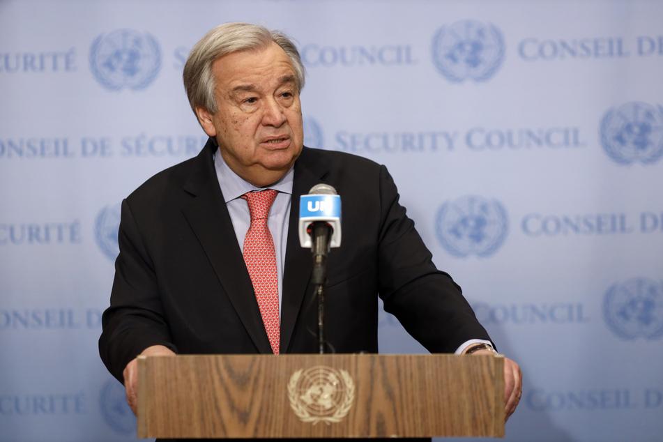 UN-Generalsekretär Antonio Guterres.