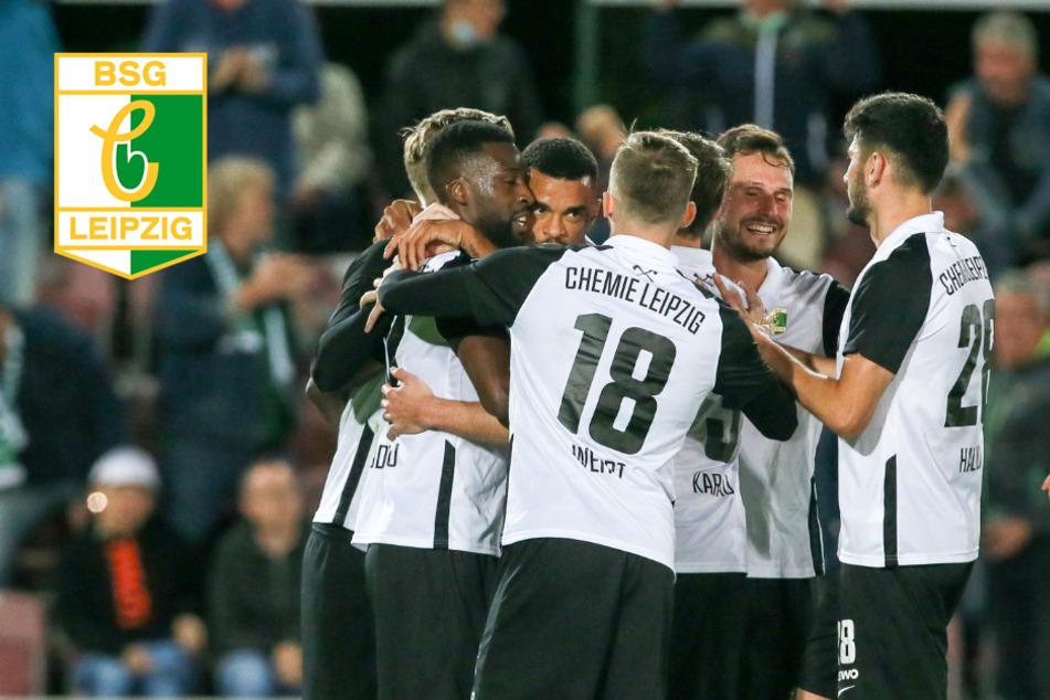 Chemie Leipzig ballert sich mit Glück und Verstand zum verdienten Sieg!