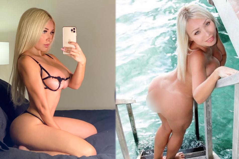 Daniella noch nackter und erotischer als sonst