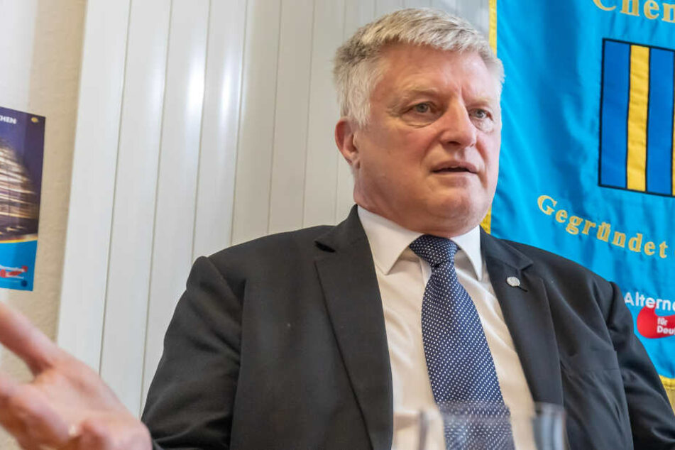 Wahlprogramm vorgestellt: So will AfD-Mann Oehme Chemnitzer OB werden