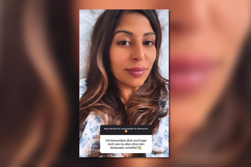 Eva Benetatou (29) beantwortete die Frage eines Followers sehr ausführlich und machte anderen Müttern Mut.