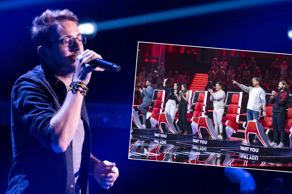 """Manuel (22) aus Coswig heute bei """"The Voice of Germany"""""""