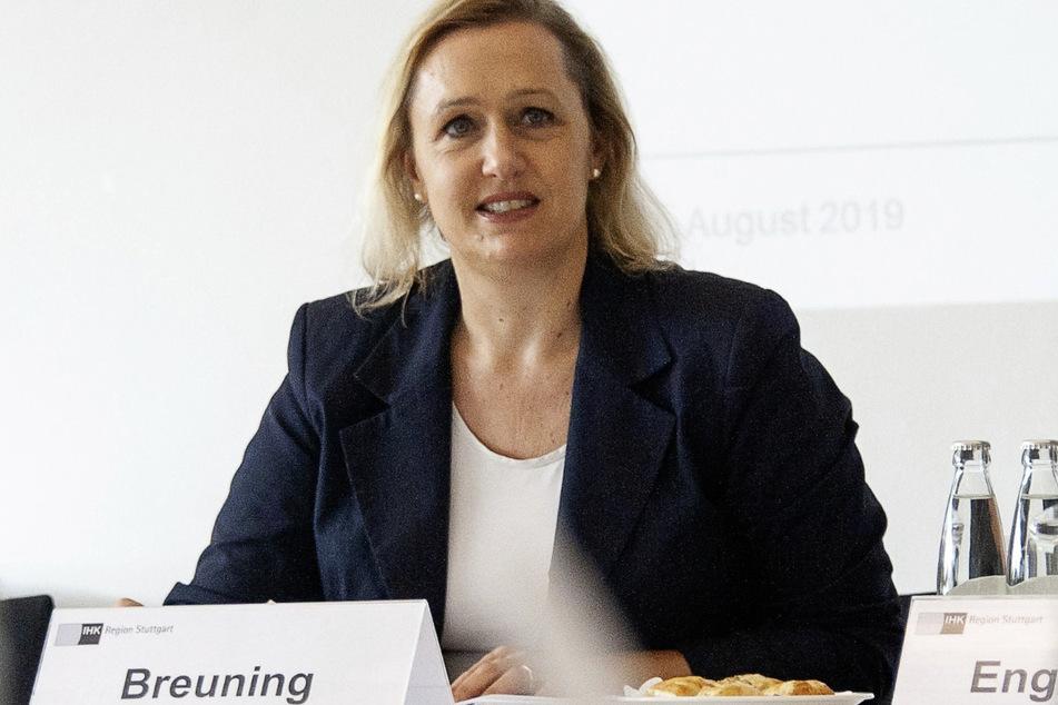 Marjoke Breuning ist die Vizepräsidentin des Baden-Württembergischen Industrie- und Handelskammertags (BWIHK) und Präsidentin der Industrie- und Handelskammer Region Stuttgart.