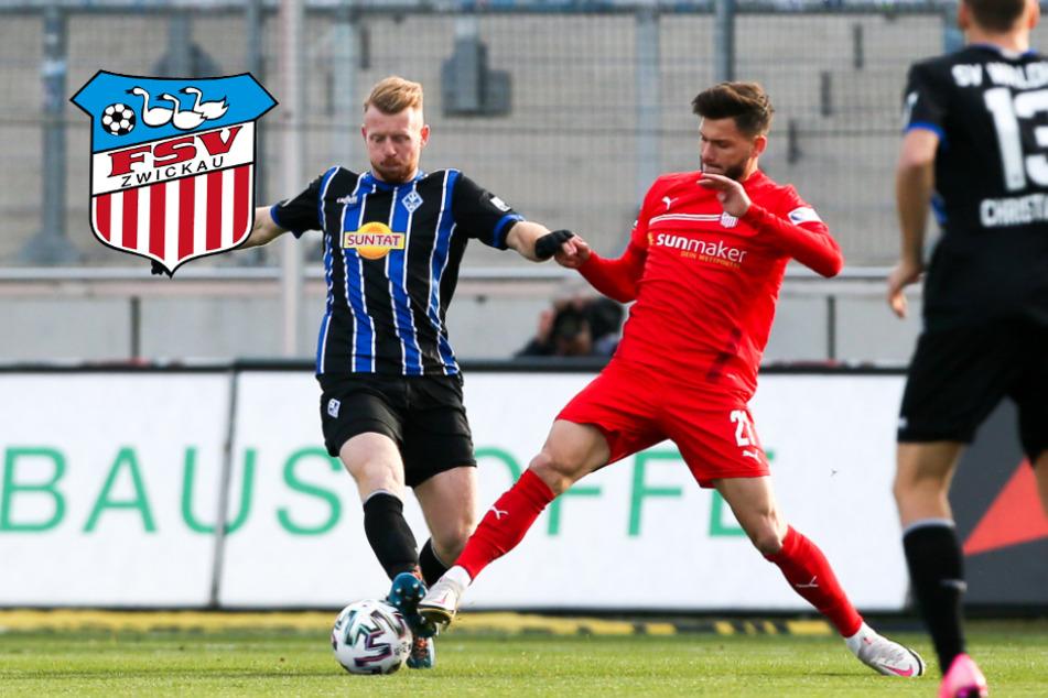 FSV Zwickau verpasst Befreiungsschlag gegen Waldhof Mannheim
