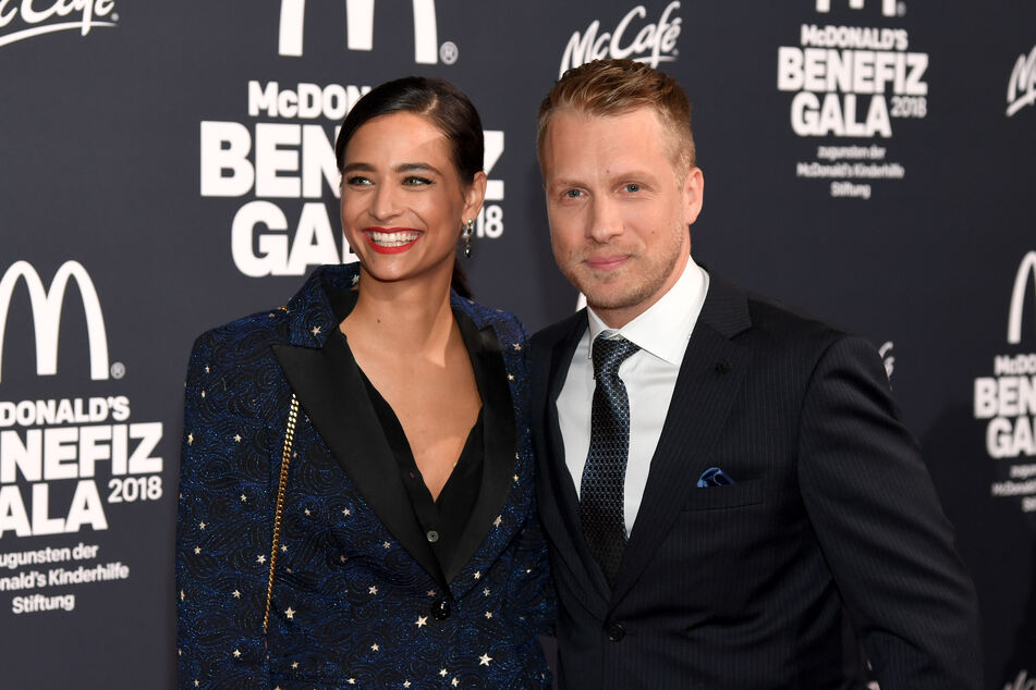 Oliver (42) und Amira Pocher (27) haben allen Grund zum Strahlen.