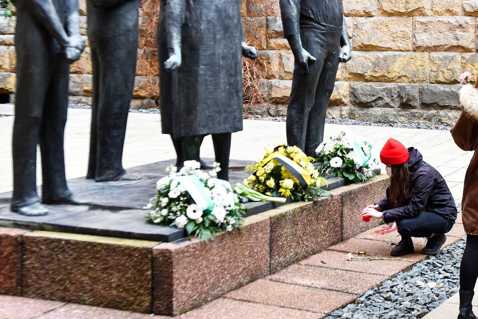 Jahrestag der Befreiung von Auschwitz: Dresden gedenkt der Opfer des Nazi-Regimes