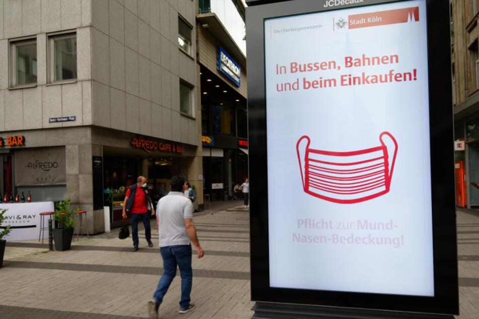 Maskenpflicht in NRW.