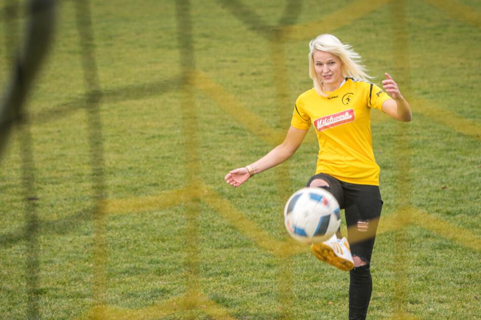 """Dresdner Fußballerin ballert sich ins """"Aktuelle Sportstudio"""""""