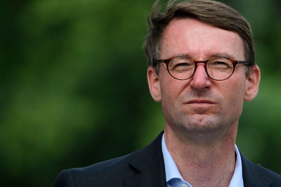 Roland Wöller (CDU), Innenminister von Sachsen. (Archivbild)