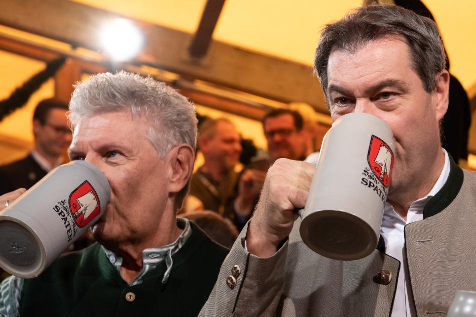 Wird heute das Wiesn-Aus verkündet? Söder und Reiter mit Oktoberfest-PK!