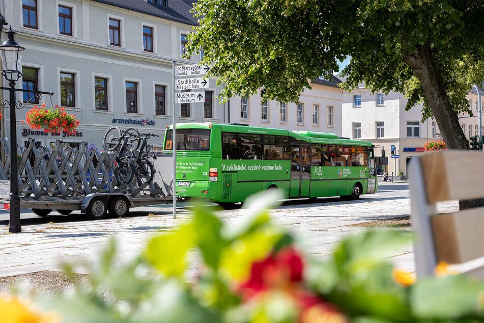 Der Grenzbus von Marienberg nach Chomutov (Tschechien) fährt ab Samstag wieder.