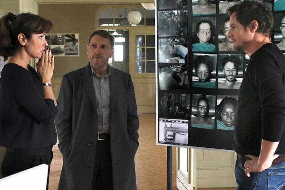 Tatort-Kommissar Felix Klare (41, rechts) in einer anderen Rolle: Er gibt in der ARD/MDR-Produktion einen brutalen Frauenmörder.