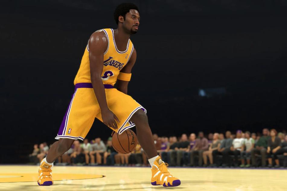 """NBA-Legende Kobe Bryant, der im Februar bei einem Helikopter-Absturz ums Leben kam, wurde die """"Mamba Forever Edition"""" von NBA 2K21 gewidmet."""