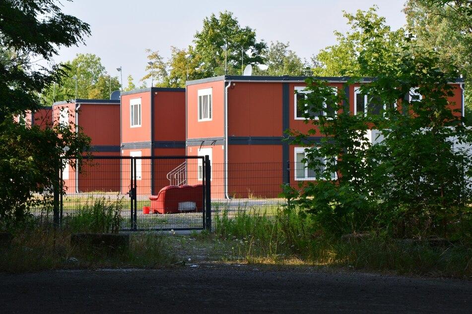 """Die Wohncontainer in der Straße """"An den Tierkliniken"""" sollen als Reservekapazitäten erhalten bleiben."""