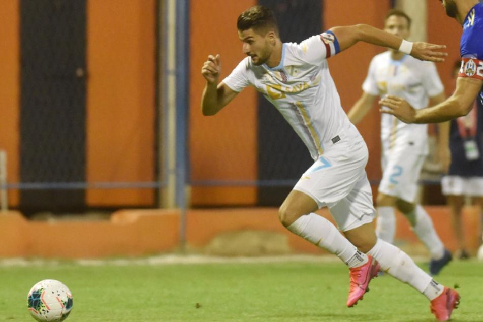 Bald für den VfB Stuttgart am Ball? Antonio Colak (26) vom kroatischen Erstligisten HNK Rijeka.