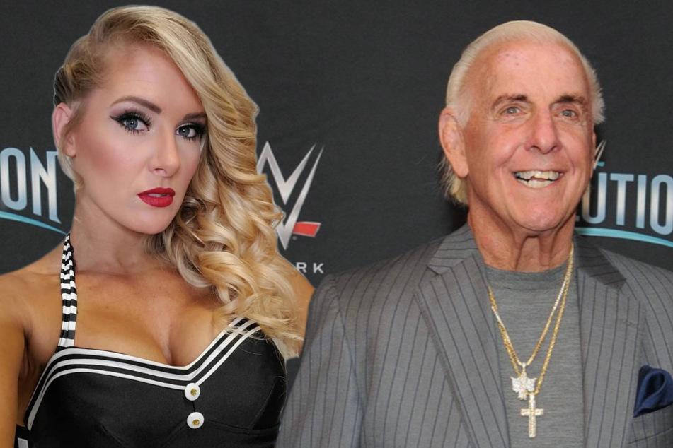 Hat Wrestling-Legende Ric Flair (71) seine WWE-Kollegin geschwängert?
