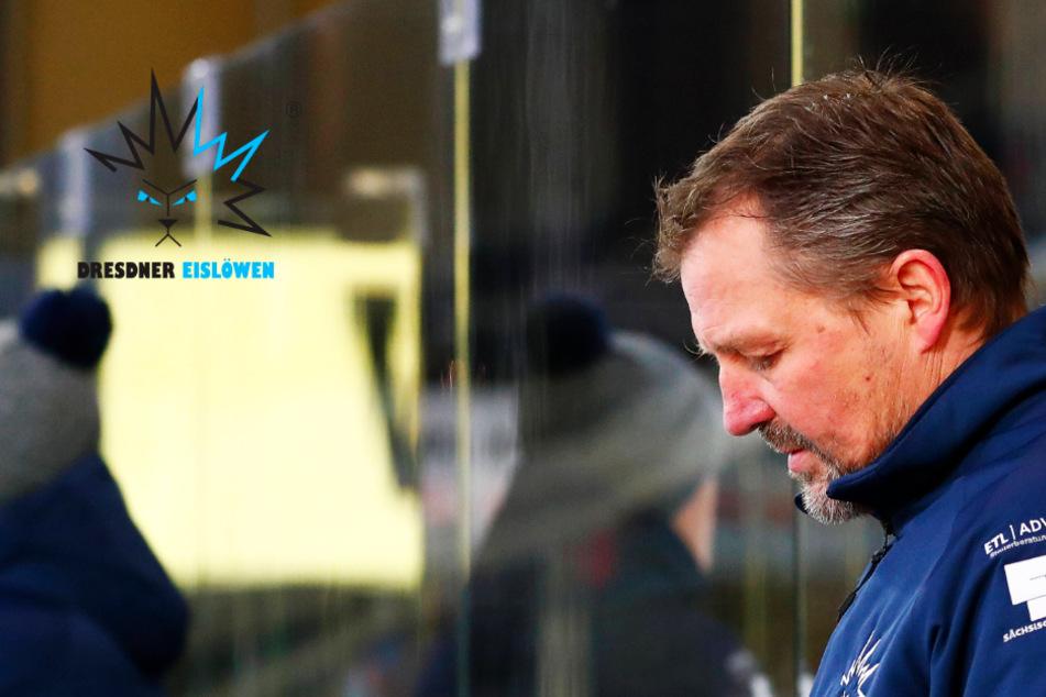 Eislöwen-Coach Brockmann kochte nach Pleite in Bayreuth!